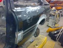 Restauratie Audi Coupe Quattro typ85